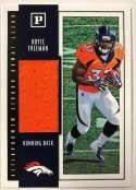 2018 Panini Quest Jumbo Rookie Memorabilia Football Card #22 Royce Freeman Jersey/Relic Denver Broncos  Official NFL Trading Card