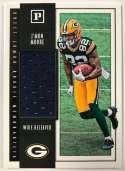 2018 Panini Quest Jumbo Rookie Memorabilia Football Card #30 J'Mon Moore Jersey/Relic Green Bay Packers  Official NFL Trading Card