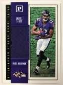2018 Panini Quest Jumbo Rookie Memorabilia Football Card #36 Jaleel Scott Jersey/Relic Baltimore Ravens  Official NFL Trading Card