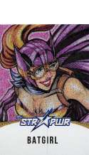 2018 Cryptozoic DC Bombshells Series 2 STR PWR Gold Trading Card #ST08 Batgirl SER/25  Official DC Comics Collectible Card