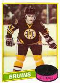1980-81 Topps Hockey Card #140 Ray Bourque RC Rookie Card Boston Bruins  Official NHL Trading Card
