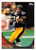 1994 Topps Football Card #10 Rod Woodson Pittsburgh Steelers  Official NFL Trading Card