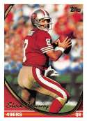 1994 Topps Football Card #60 Steve Young San Francisco 49ers  Official NFL Trading Card