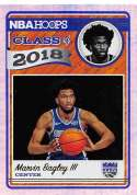 2018-19 NBA Hoops Class of 2018 Holo #2 Marvin Bagley III Sacramento Kings  RC Rookie Parallel Official Panini Basketball Card