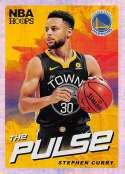 2018-19 NBA Hoops The Pulse Holo #1 Stephen Curry Golden State Warriors  Official Panini Basketball Card