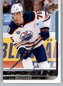 2018-19 Upper Deck Hockey Card #221 Evan Bouchard Edmonton Oilers  Official UD Trading Card