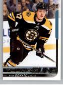 2018-19 Upper Deck Hockey Card #225 Ryan Donato Boston Bruins  Official UD Trading Card