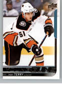 2018-19 Upper Deck Hockey Card #239 Troy Terry Anaheim Ducks  Official UD Trading Card