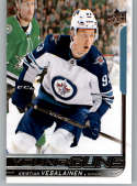 2018-19 Upper Deck Hockey Card #244 Kristian Vesalainen Winnipeg Jets  Official UD Trading Card