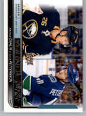 2018-19 Upper Deck Hockey Card #250 Rasmus Dahlin/Elias Pettersson Sabres/Canucks  Official UD Trading Card