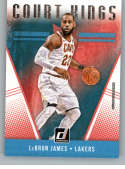 2018-19 Donruss Court Kings Basketball Card #19 LeBron James Los Angeles Lakers  Official NBA Trading Card Produced By Panini
