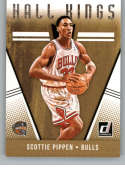 2018-19 Donruss Hall Kings Basketball Card #21 Scottie Pippen Chicago Bulls  Official NBA Trading Card Produced By Panini