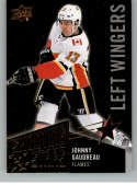 2018-19 Upper Deck Shooting Stars Left Wingers Black Hockey Card #SSL-10 Johnny Gaudreau Calgary Flames  Official UD Trading Card
