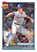 1991 Topps Desert Shield Baseball #741 Jimmy Key Toronto Blue Jays  Official MLB Trading Card