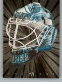 2001-02 Between the Pipes Masks Silver Hockey #39 Miikka Kiprusoff SER/300 San Jose Sharks Official NHL Hockey Card Produced By In The Game ITG