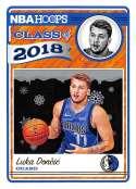 2018-19 Panini NBA Hoops Class of 2018 Winter/Holiday/Christmas #3 Luka Doncic Dallas Mavericks  Official Basketball Card