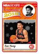 2018-19 Panini NBA Hoops Class of 2018 Winter/Holiday/Christmas #5 Trae Young Atlanta Hawks  Official Basketball Card
