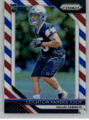 2018 Panini Prizm Prizm Red White and Blue Football #250 Leighton Vander Esch Rookie Dallas Cowboys  Official NFL Trading Card Exclusive Parallel From