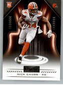 2018 Playbook Football #119 Nick Chubb RC Rookie Card Cleveland Browns Rookie  Official NFL Card Produced by Panini