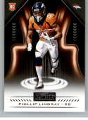 2018 Playbook Football #197 Phillip Lindsay RC Rookie Card Denver Broncos Rookie  Official NFL Card Produced by Panini