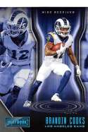 2018 Playbook Platinum Parallel Football #91 Brandin Cooks SER/49 Los Angeles Rams  Official NFL Card Produced by Panini