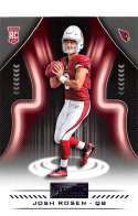 2018 Playbook Purple Parallel Football #147 Josh Rosen Arizona Cardinals Rookie  Official NFL Card Produced by Panini