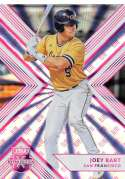 2018 Elite Extra Edition EEE Pink Baseball #2 Joey Bart San Francisco Giants  Official NCAA/Prospect Trading Card By Panini Blaster Exclusive Pink Par