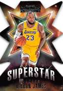 2018-19 Panini Contenders Superstar Die-Cuts Retail Basketball #2 LeBron James Los Angeles Lakers  Official NBA Trading Card by Panini