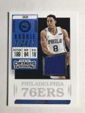 2018-19 Panini Contenders Rookie Ticket Swatches Basketball Zhaire Smith Jersey/Relic Philadelphia 76ers  Official NBA Card From Panini