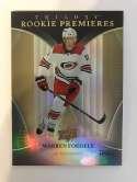 2018-19 Upper Deck Trilogy Hockey #67 Warren Foegele RC Rookie Card SER/999 Carolina Hurricanes  Official Trading Card From UD