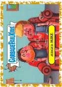 2019 Topps Garbage Pail Kids We Hate the '90s Cartoons and Comics Sticker B-Names Fool's Gold Non-Sport #6 JUDGED MIKE S Collectible Trading Card Stic