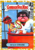 2019 Topps Garbage Pail Kids We Hate the '90s Cartoons and Comics Sticker A-Names Fool's Gold Non-Sport #8 SPACE CHASE S Collectible Trading Card Stic