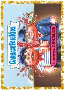 2019 Topps Garbage Pail Kids We Hate the '90s Politics & News Sticker B-Names Fool's Gold Non-Sport #6 CHUNNEL CHARLES S Collectible Trading Card Stic