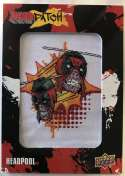 2019 Upper Deck Deadpool Deadpatch Tier 1 NonSport Trading Card #DP5 Headpool Patch  Official UD Trading Card Celebrating Deadpool Comic Book