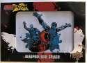 2019 Upper Deck Deadpool Deadpatch Tier 1 NonSport Trading Card #DP8 Deadpool Blue Splash Patch  Official UD Trading Card Celebrating Deadpool Comic B