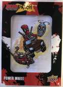 2019 Upper Deck Deadpool Deadpatch Tier 1 NonSport Trading Card #DP9 Power Wheel Patch  Official UD Trading Card Celebrating Deadpool Comic Book