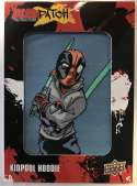 2019 Upper Deck Deadpool Deadpatch Tier 1 NonSport Trading Card #DP13 Kidpool Hoodie Patch  Official UD Trading Card Celebrating Deadpool Comic Book