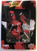 2019 Upper Deck Deadpool Deadpatch Tier 4 NonSport Trading Card #DP40 Flower Patch  Official UD Trading Card Celebrating Deadpool Comic Book