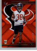 2018 Panini Xr Red Football #137 Justin Reid SER/299 Houston Texans Rookie  Official NFL Trading Card