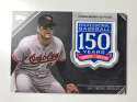 2019 Topps 150th Anniversary Commemorative Patches Baseball #AMP-CR Cal Ripken Jr. Baltimore Orioles  Official MLB Trading Card By Topps