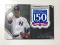 2019 Topps 150th Anniversary Commemorative Patches Baseball #AMP-LS Luis Severino New York Yankees  Official MLB Trading Card By Topps