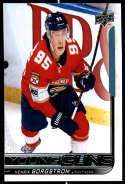 2018-19 Upper Deck Hockey Series Two #461 Henrik Borgstrom RC Rookie Card Florida Panthers  Official UD NHL Trading Card