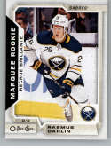2018-19 O-Pee-Chee Update Hockey #650 Rasmus Dahlin RC Rookie Card Buffalo Sabres  NHL Trading Cards from Upper Deck Serie Two Pack