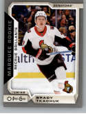 2018-19 O-Pee-Chee Update Silver Border Hockey #632 Brady Tkachuk Ottawa Senators  NHL Trading Cards from Upper Deck Serie Two Pack