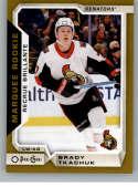 2018-19 O-Pee-Chee Update Gold Border Glossy Hockey #632 Brady Tkachuk Ottawa Senators  NHL Trading Cards from Upper Deck Serie Two Pack