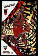 2018-19 Revolution Chinese New Year Red Parallel Basketball #111 Wendell Carter Jr. Chicago Bulls Rookie  Official NBA Trading Card From Panini