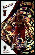 2018-19 Revolution Chinese New Year Red Parallel Basketball #121 Collin Sexton Cleveland Cavaliers Rookie  Official NBA Trading Card From Panini
