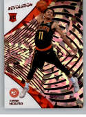 2018-19 Revolution Chinese New Year Red Parallel Basketball #150 Trae Young Atlanta Hawks Rookie  Official NBA Trading Card From Panini