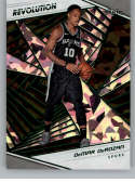 2018-19 Revolution Chinese New Year Emerald Basketball #57 DeMar DeRozan SER/88 San Antonio Spurs  Official NBA Trading Card By Panini