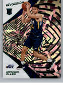 2018-19 Revolution Chinese New Year Emerald Basketball #107 Grayson Allen SER/88 Utah Jazz Rookie  Official NBA Trading Card By Panini